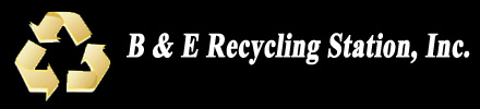 B & E Recycling logo